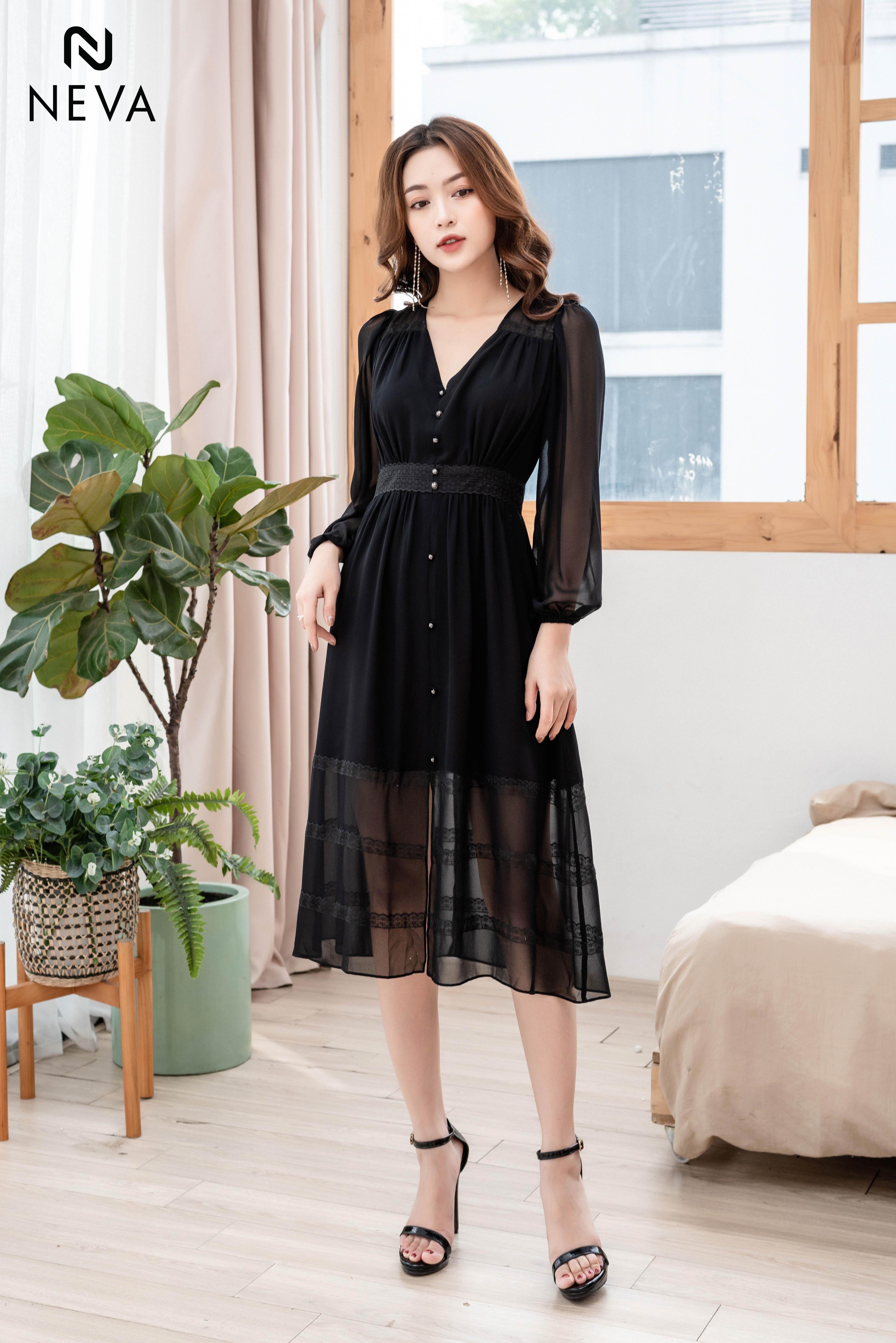 Thời trang nữ:  Xu hướng mẫu thiết kế váy đẹp cực HOT 19SNDK395-1,368,000%20%20%20(1)
