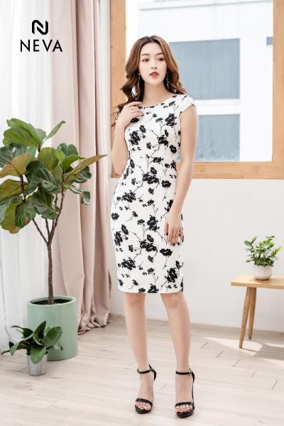 Thời trang nữ: Những mẫu váy hoa đẹp 2019 đang được yêu thích nhất 19SNDK424-1,298,000%20%20(3)