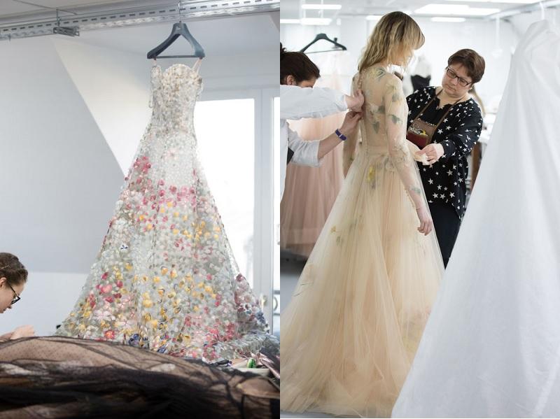 đầm dior, mẫu váy dior ,