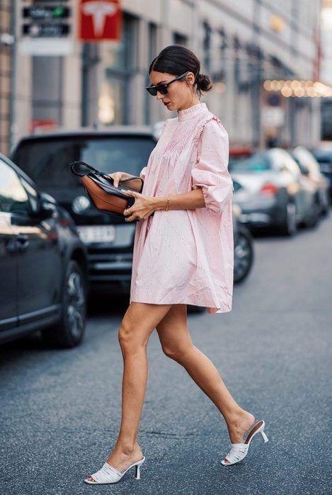 cách phối đầm với giày cao gót, cách phối váy với giày cao gót, cách kết hợp váy với giày cao gót