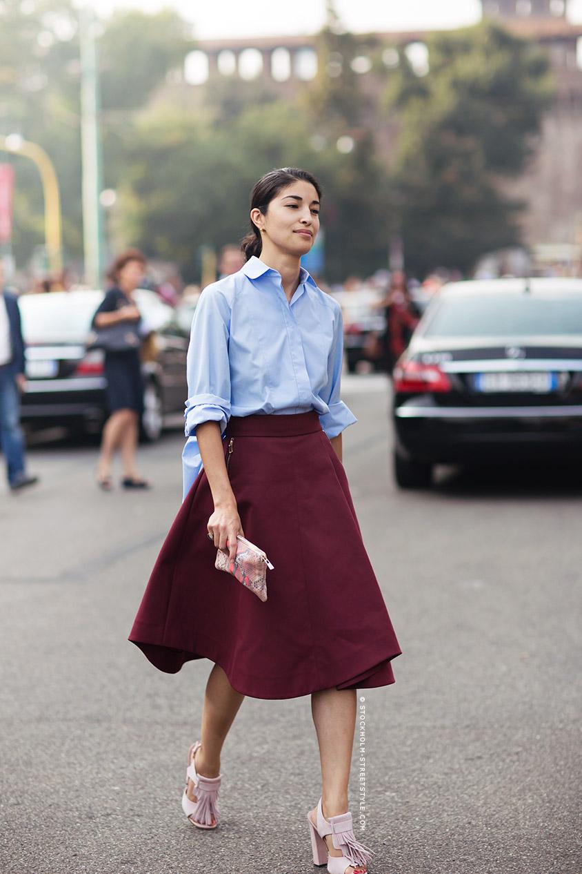 Bạn nghĩ sao về những mẫy chân váy dài vintage dài ngang gối này?