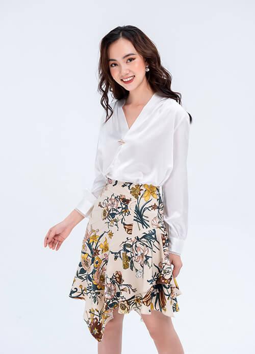 Đốn tim chàng bằng những mẫu chân váy Hàn Quốc dễ thương