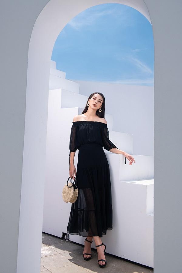 Da ngăm đen nên mặc váy màu gì khiến nàng không còn lép vế?