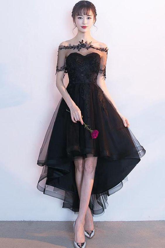 Tổng hợp váy đầm dạ hội màu đen đẳng cấp và chất lừ