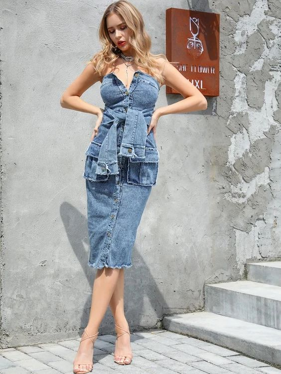 đầm jean suông, đầm jeans suông, váy bò suông, váy jean suông, váy suông bò, váy bò suông đẹp, váy bò dáng suông, váy suông jean, đầm suông jean, đầm bò suông