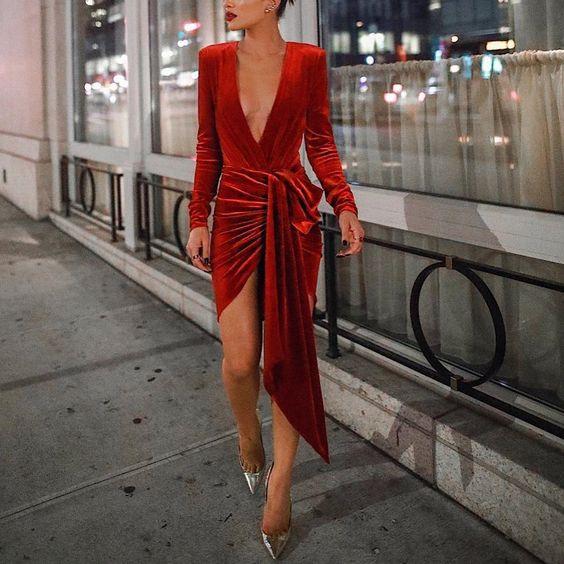 đầm nhung đỏ, váy nhung đỏ, váy nhung đỏ cao cấp, mẫu váy nhung đỏ đẹp, váy nhung đỏ body, váy đỏ nhung