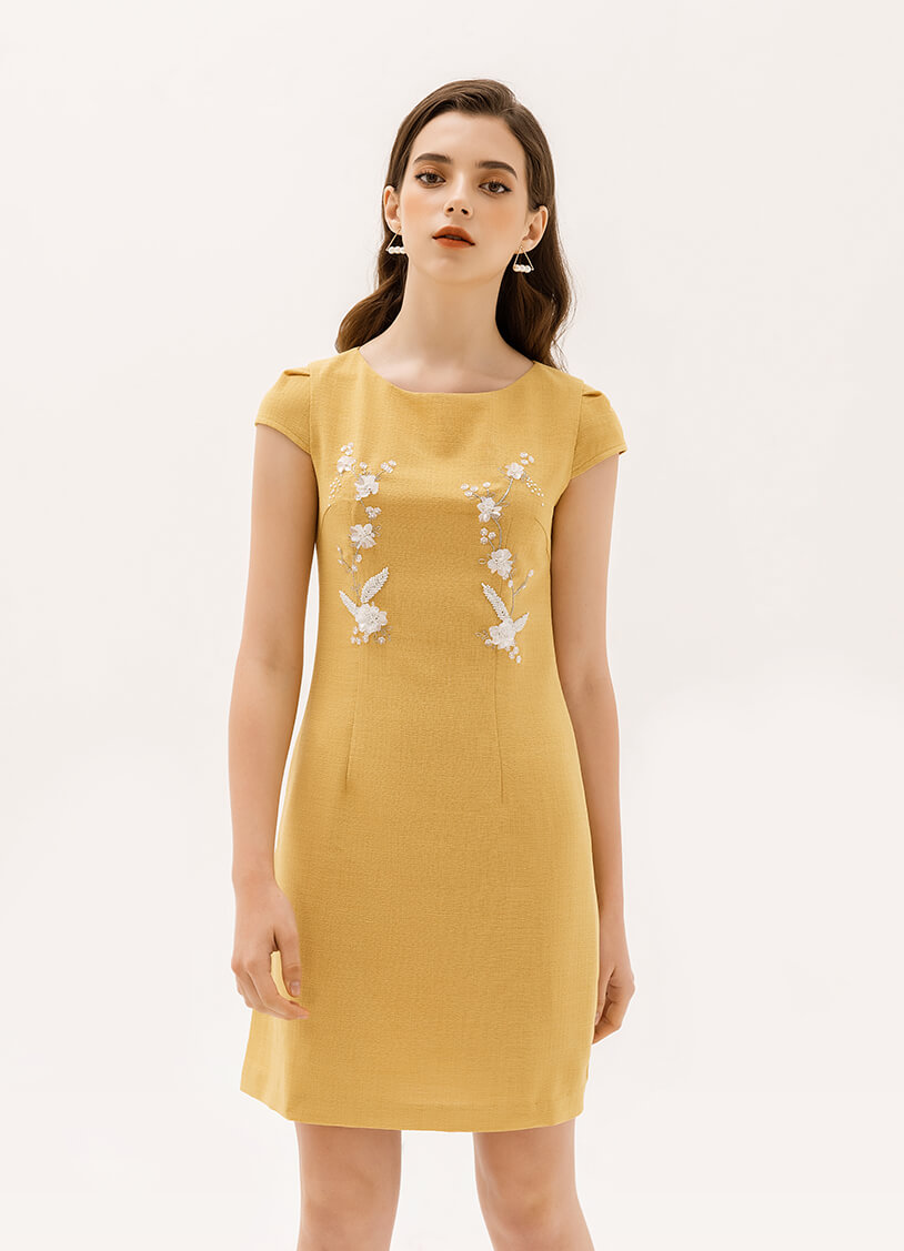 váy suông hàn quốc, váy suông kiểu hàn quốc, các kiểu váy suông hàn quốc, mẫu váy suông hàn quốc, đầm suông hàn quốc