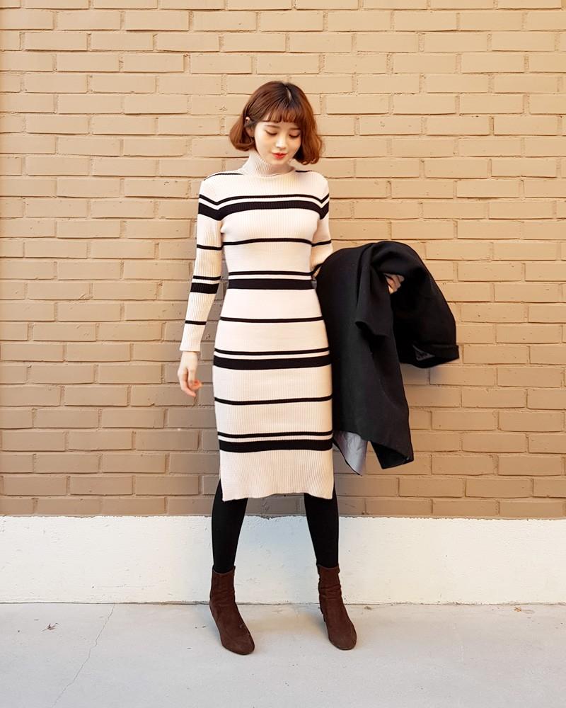 váy body mùa đông, mẫu váy body mùa đông, váy body đẹp mùa đông