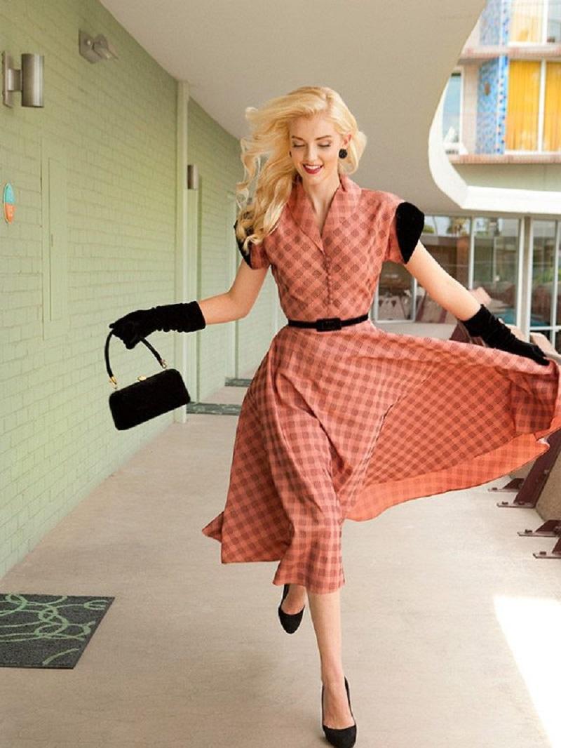 váy dự tiệc vintage, đầm vintage dự tiệc, đầm dự tiệc phong cách vintage, đầm dự tiệc cưới vintage