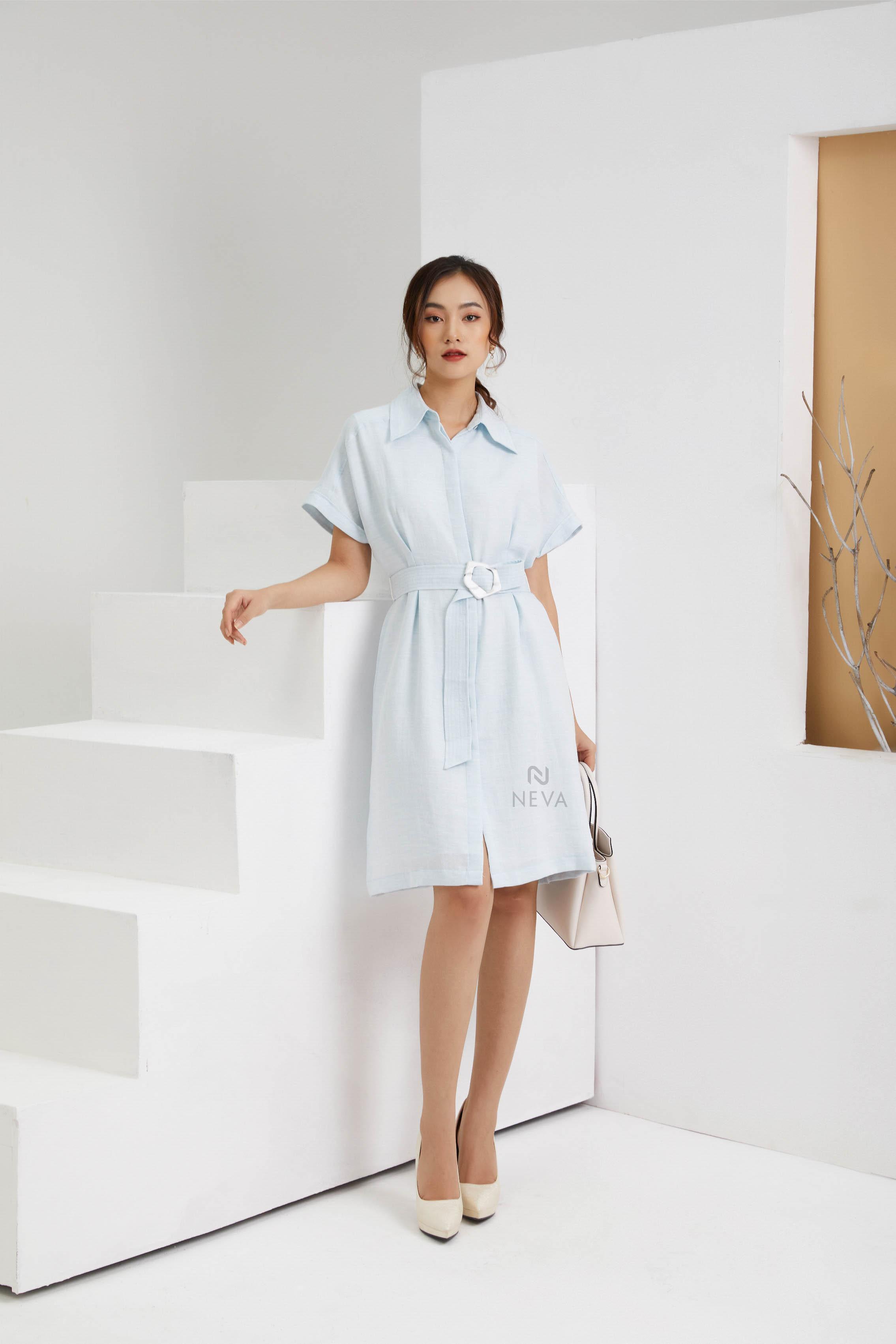 Những mẫu váy đầm liền thân tay lỡ dễ thương dành cho các cô gái hiện đại
