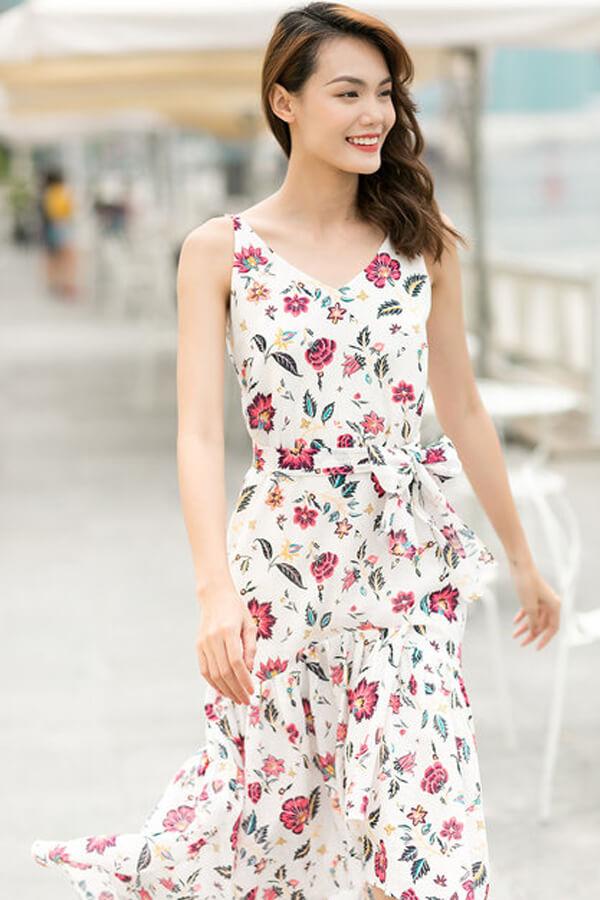 mẫu đầm linen đẹp,áo đầm linen đẹp,đầm linen trắng,mẫu váy linen,vải linen may váy,đầm linen 2 túi,các kiểu váy đầm vải linen,đầm linen hoa