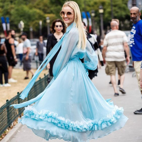 đầm xòe tiểu thư, váy đầm xòe tiểu thư, các kiểu đầm xòe tiểu thư