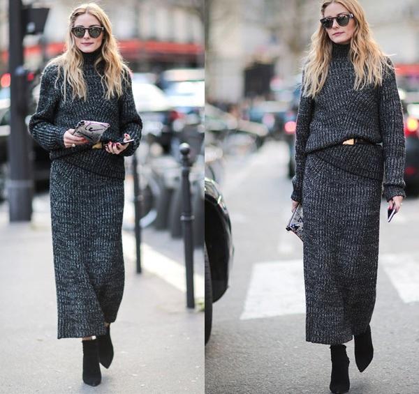 Bạn nghĩ sao về những mẫu váy len suông mùa đông rời thân này?