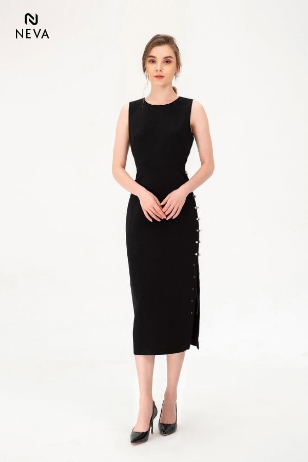 Thời trang nữ: Các kiểu váy liền thân ôm sát để nàng tự tin đọ dáng Vay-lien-than-om-sat