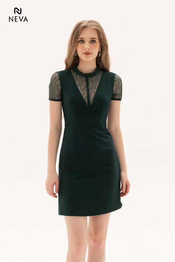 Thời trang nữ: Các kiểu váy liền thân ôm sát để nàng tự tin đọ dáng Vay-lien-than-om-sat2