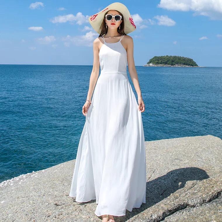 đầm maxi trắng, váy maxi trắng, váy trắng maxi, đầm trắng maxi, đầm maxi màu trắng
