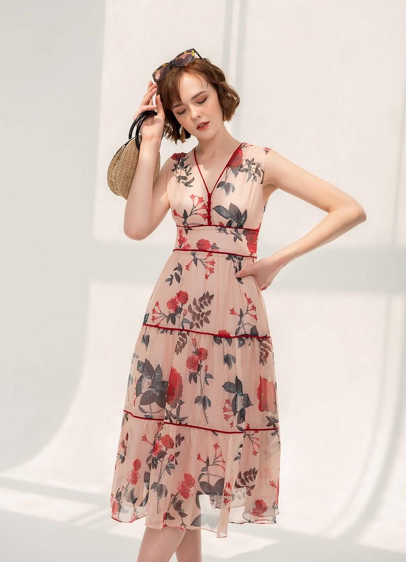 váy mùa đông cho người gầy, váy đẹp mùa đông cho người gầy, váy mùa đông dành cho người gầy
