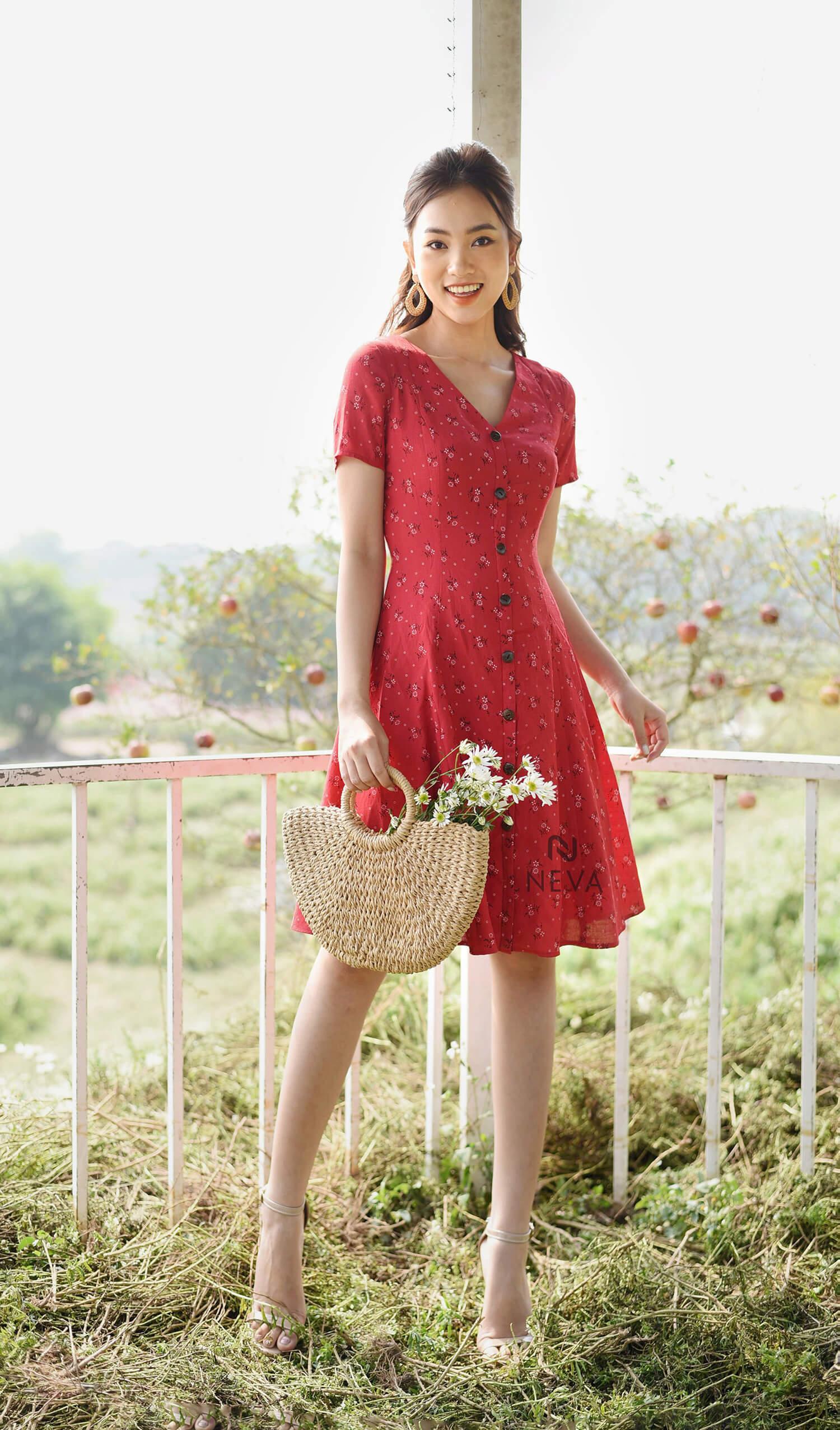 Váy đầm suông - 19WNDKC079